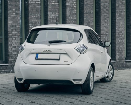 Phenix E-Auto Renault ZOE Weiß Hinten