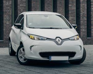 Phenix E-Auto Renault ZOE Weiß Vorne