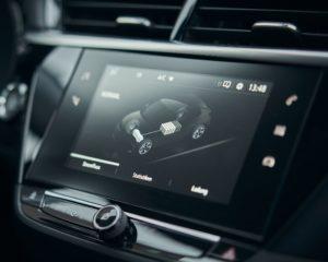 Phenix E-Auto Opel Konsole Und Touchscreen