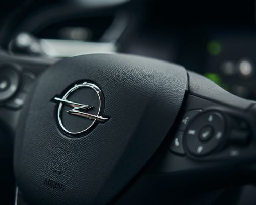 Phenix E-Auto Opel Lenkrad