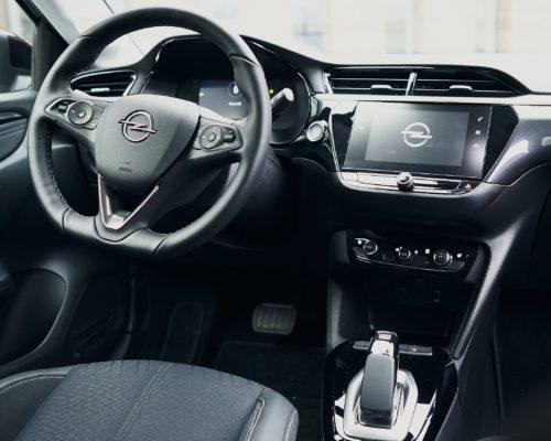 Phenix E-Auto Opel Innenansicht Fahrerseite